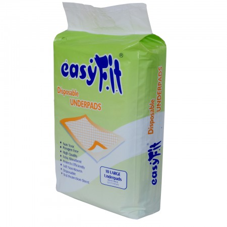 Easyfit disposable under pads (10/pack)