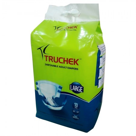Truchek large disposable adult diapers (10/pack)