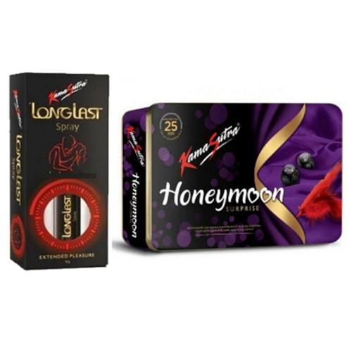 Longlast spray- honeymoon pack