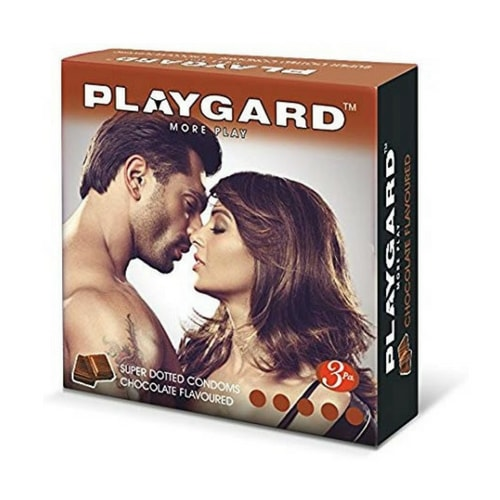 Playgard Super Dotted - Chocolate Flavoured Condoms 3