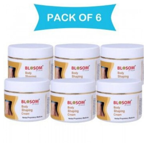 Lasky Herbal Blosom Body Shaping, Toning & Slimming Cream Combo pack of 6
