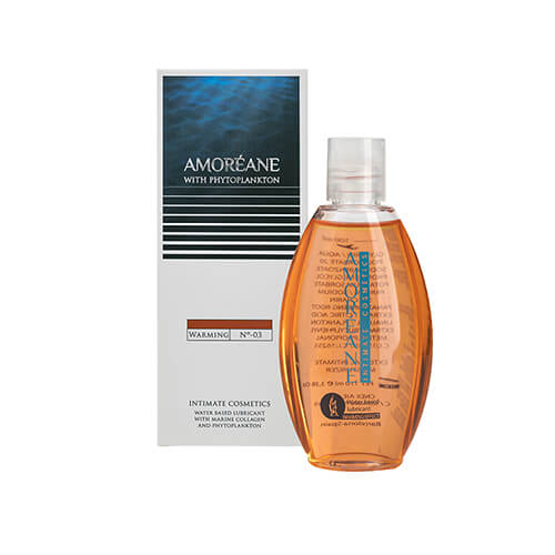 Amoreane Natural Water Based Warming Lubricant - 110ml
