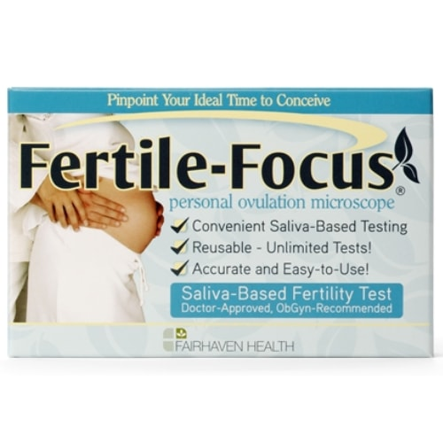 Fertile Focus Saliva Ovulation Microscope