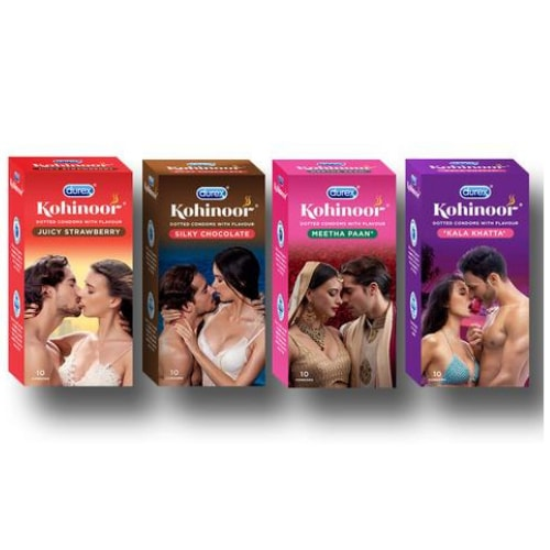 Durex Flavoured Condoms Combo Pack