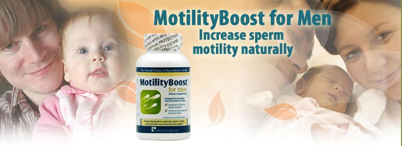 Increase sperm motility naturally