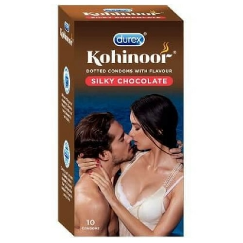 Durex Kohinoor Silky Chocolate Condoms
