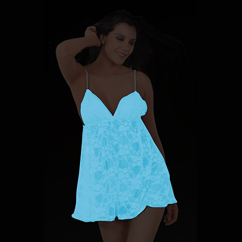 Glow in dark babydoll