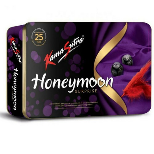Kamasutra honeymoon surprise condoms gift pack