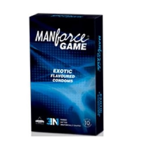 Manforce Exotic 3 in 1 flavoured condoms
