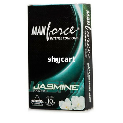 Manforce Jasmine flavoured condoms 10