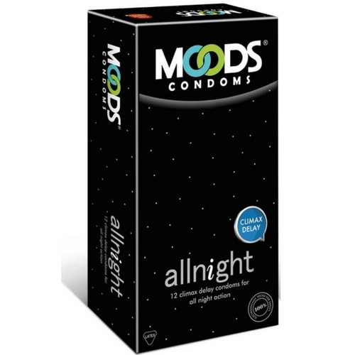 Moods all night condoms 12s x 4