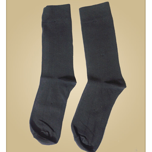 Organic men's formal socks