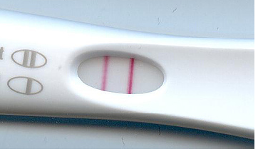 Ovulation test kit result - positive
