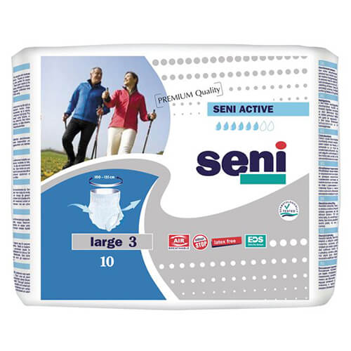 Seni active small a10 - adult diapers 10 pcs