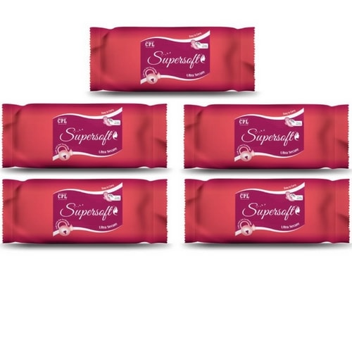 SUPERSOFT ULTRA XXL pad pack of 5