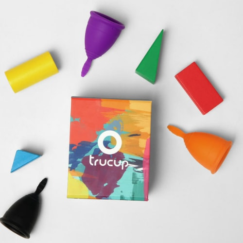 Trucup Menstrual Cup - 3 Colours - 2 Sizes