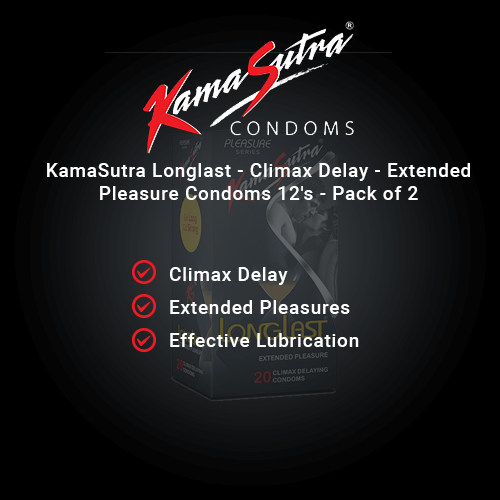 KamaSutra Longlast - Climax Delay - Extended Pleasure Condoms 12