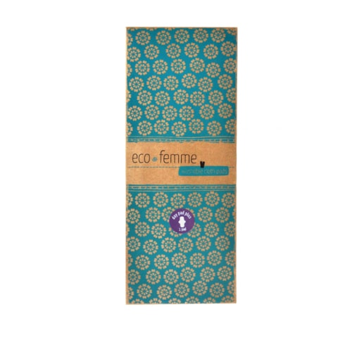 Eco-Femme Reusable Day Pad Plus- Vibrant Organic Pad