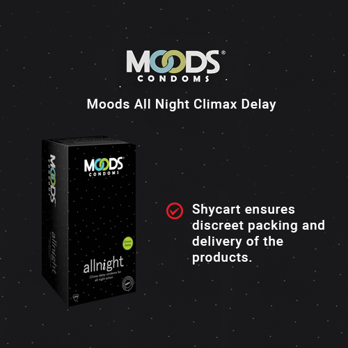 Moods All Night Climax Delay Condoms - 12s Pack