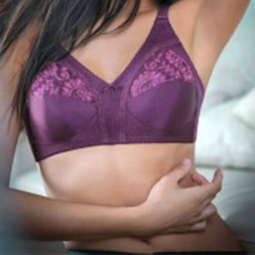 Buy Triumph Non Wired Comfort Lace Bra Online India | shycart